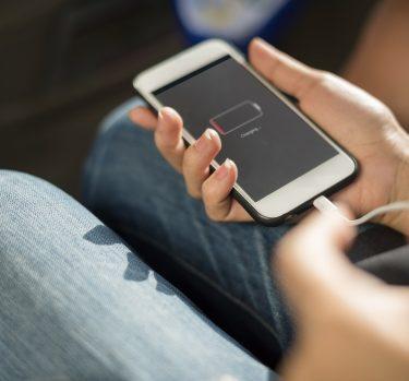La batería del móvil