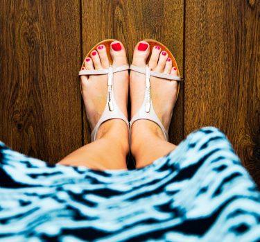 ¿Sandalias este verano?