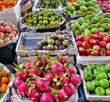 Frutas y verduras para no fumar