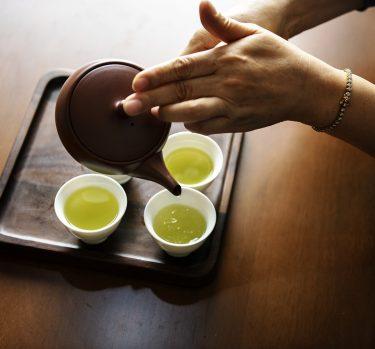 ¿Tomas té verde?